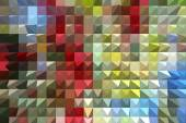 Colorful abstract geometric background — Stock Photo