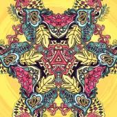 Floral background, greeting card — Stockvektor