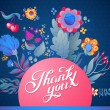 Thank You card — Stock Vector #58281129