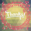 """Thank you"" card background — Stock Vector #58285173"