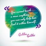 ������, ������: Quote of Galileo Galilei