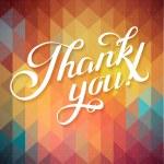 Thank you card — Stock Vector #58286621