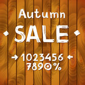 Autumn sale constructor — Stockvector