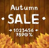 Autumn sale constructor — Vetorial Stock