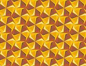 Hexagon geometric seamless background. — Stock Vector