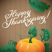 Happy Thanksgiving day banner — Stock Vector