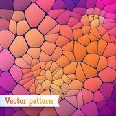Background of colored polygons. — Stockvektor