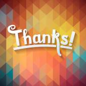 Thank you card — Stock Vector