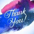Thank you colorful card — Stock Vector #59273277