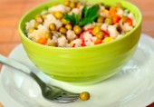 Risotto with vegetable — Stock Photo