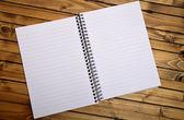 Empty notepad — Stock Photo