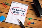 Mot de l'écriture créative — Photo