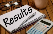 Results word — Stock Photo