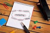 Marketing word — Stock Photo