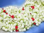 Garland of Jasmine flower. — Stock Photo
