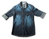 Denim Shirt. — Stock Photo