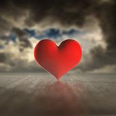 Heart storm. — 图库照片