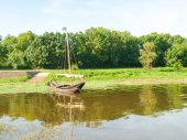 The river Loire — Stock Photo