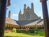 Abbey of Mont St. Michel — Stock Photo