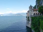 Monastery of Santa Caterina del Sasso — Stock Photo