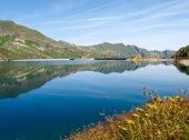 Val sambuco, lake of Naret — Fotografia Stock