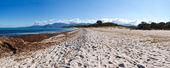 The beach of Saleccia — Stock Photo