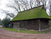 Bad Zwischenahn, old peasant homes in the open-air museum — Stock Photo