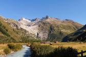 Swiss Alps, Furka glacier — Stock Photo
