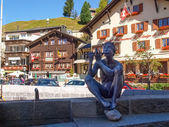 Swiss Alps, Centre of Andermatt — Стоковое фото