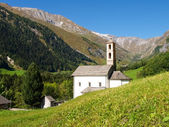 Swiss Alps, walley of Blenio — Stock Photo