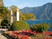 Lugano, Switzerland. Picture from the botanical park — Stock Photo