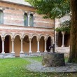 Abbey of Piona, interior courtyard and cloister — Stock Photo #61964889