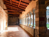 Abbey of Piona, interior courtyard and cloister — Stock Photo