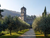 The Church of Piona Abbey — Stock Photo