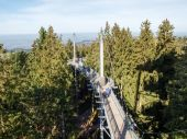 Skywalkpark. Panoramic structure — Stock Photo