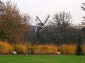 Bad Zwischenahn, windmill in the open-air museum — Stock Photo