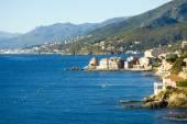 Cap Corse, the mediterranean coast. — Stock Photo