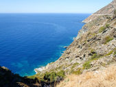 Cap Corse, the mediterranean coast. — Stock Photo