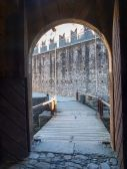 Bellinzona, Montebello Castle — Stock Photo