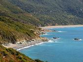 Cap Corse, la spiaggia di Nonza. — Foto Stock