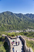 Juyongguan, China. The upper point of the section of the Great Wall — 图库照片