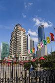 Shanghai, China. Modern high-rise buildings — Stock Photo