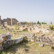 Hierapolis, Turkey. Frontinus Street and ruins of the northern Byzantine gate, IV century AD — Stock Photo #59173117