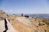 Acropolis of Pergamum, Turkey. Antique Theatre, II century BC — Stock Photo
