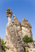 Cappadocia, Turkey. Pillars of weathering in the Valley of the Monks (Pashabag) — Stock Photo