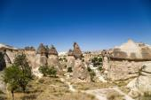 Cappadocia, Turkey. View of the beautiful Valley of Monks (Pashabag) — Foto de Stock