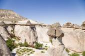 Cappadocia, Turkey. Exotic rock of the Pashabag Valley (Valley of the Monks) — Stock Photo