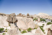 Cappadocia, Turkey. Rocks in the Pashabag Valley (Valley of the Monks) — Stock Photo
