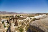 Cappadocia, Turkey. Exotic rocks in the Pashabag Valley (Monks Valley) — Stock Photo