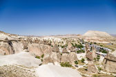 Cappadocia, Turkey. Top view of the picturesque Pashabag Valley (Monks Valley) — Foto de Stock